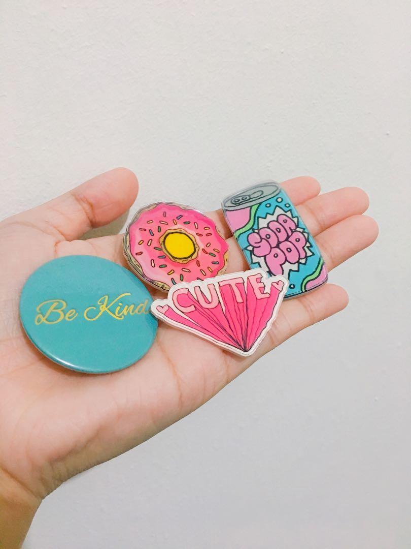 Take all Kawaii Acrylic Pins
