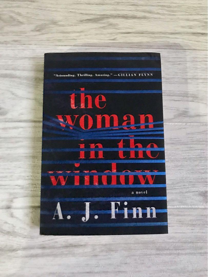 The Woman In The Window by A. J. Finn Bestseller Novel Mystery Suspense Thriller