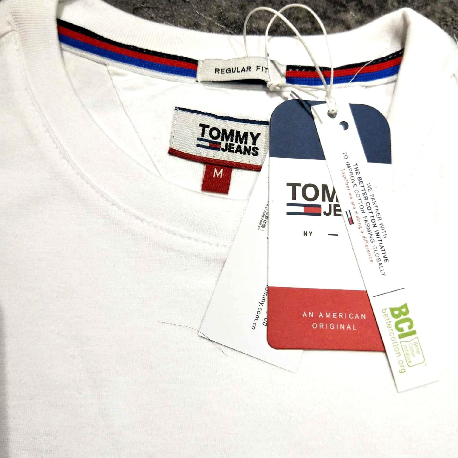 [TOP]  Tommy hilfiger tee embroidery fit size S-XL