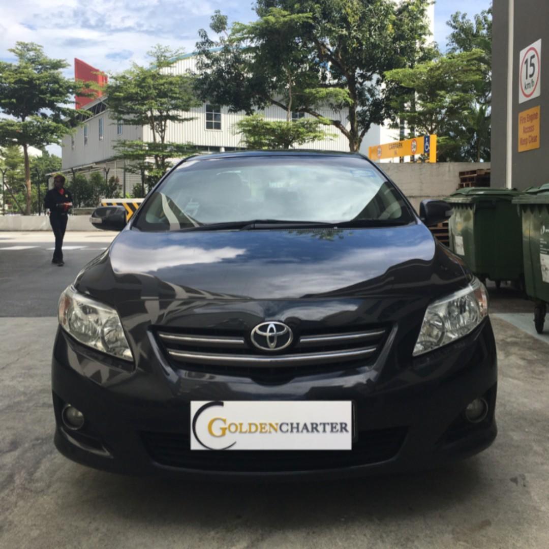 Toyota Altis| Toyota Vios For Rent! Fuel economy, Low Rental and low deposit !