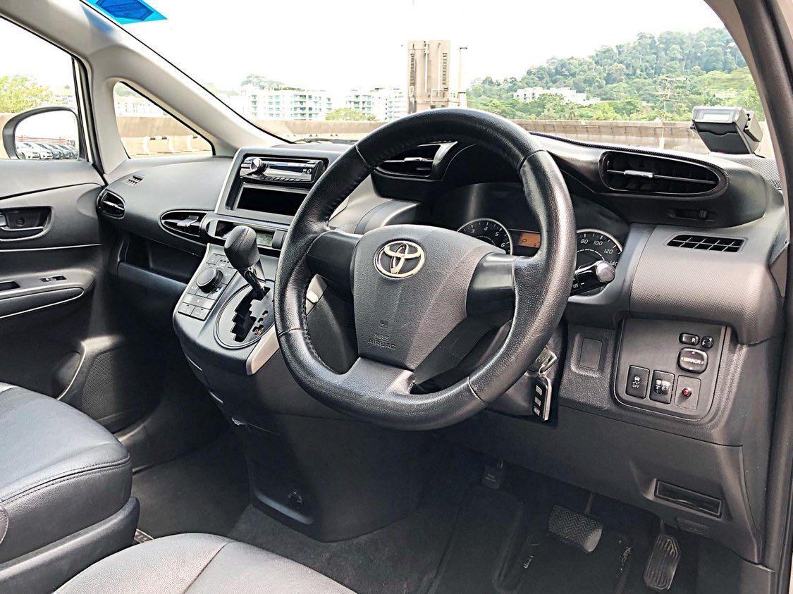 Toyota Wish 50% Off Rental