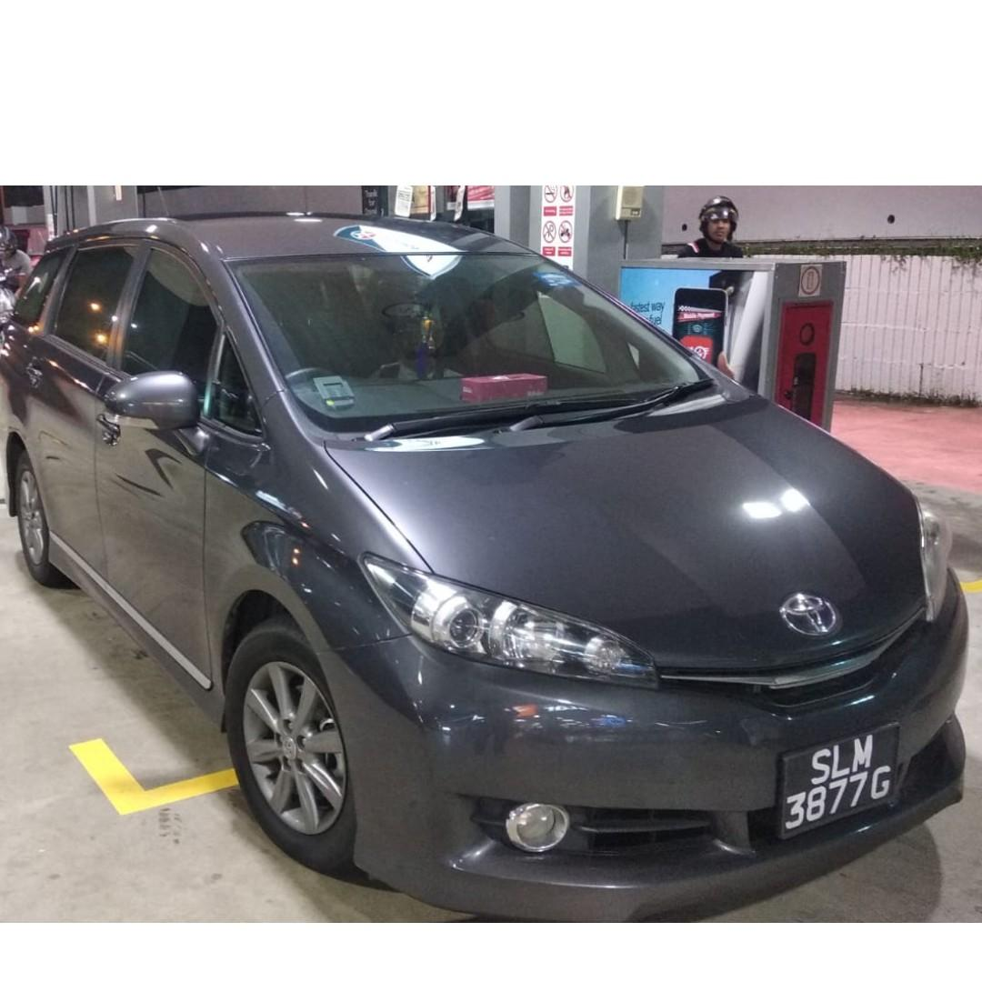 TOYOTA WISH 2017 LATEST MODEL FOR RENT! $49/DAY ONLY AFTER REBATES $500 DEPOSIT DRIVEAWAY! $150 GOJEK WEEKLY REBATES. IMMEDIATE DRIVE OFF!