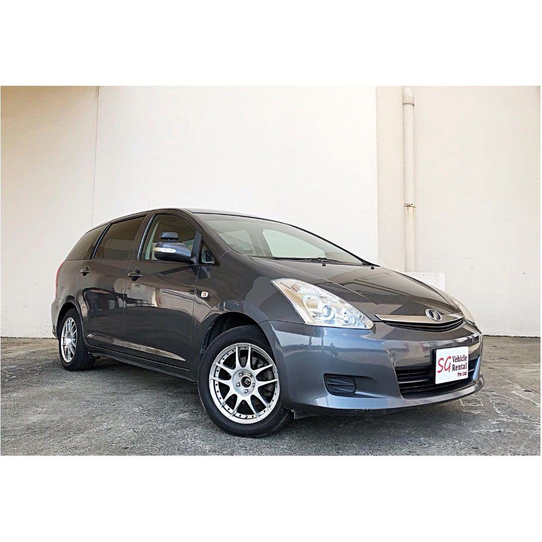 TOYOTA WISH 7 SEATER CHEAPEST IN TOWN