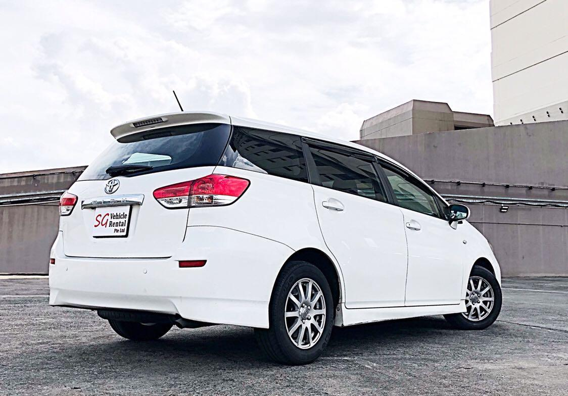 Toyota Wish For Go-Jek / Grab Private Hire & Personal Usage