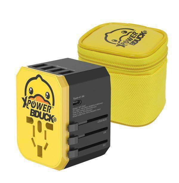 Travel Adaptor B.Duck  28W Type-C 旅行充電轉插