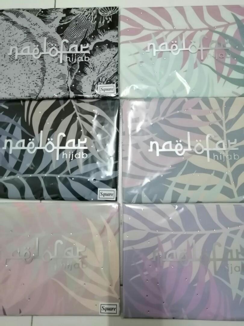 Tudung square & shawl