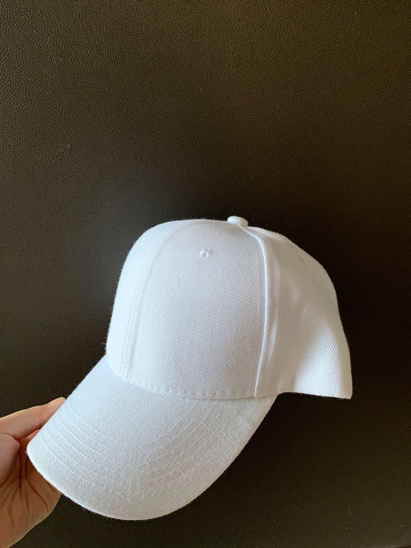 Unisex White Cap