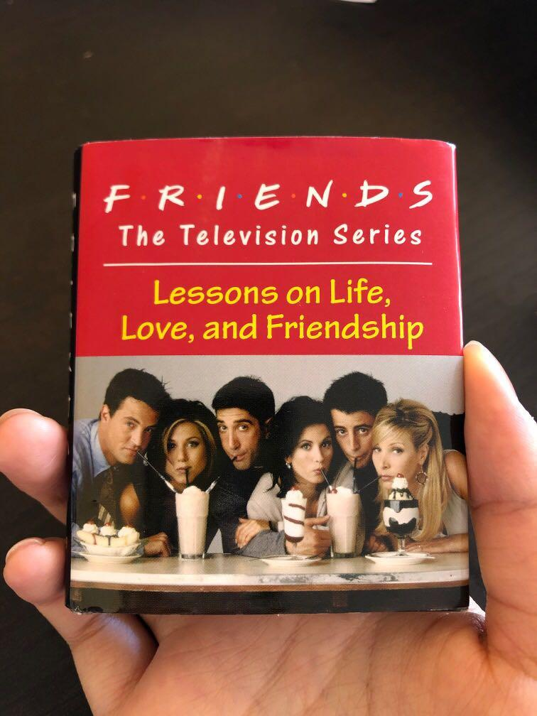 Urban outfitters friends tv show mini picture book