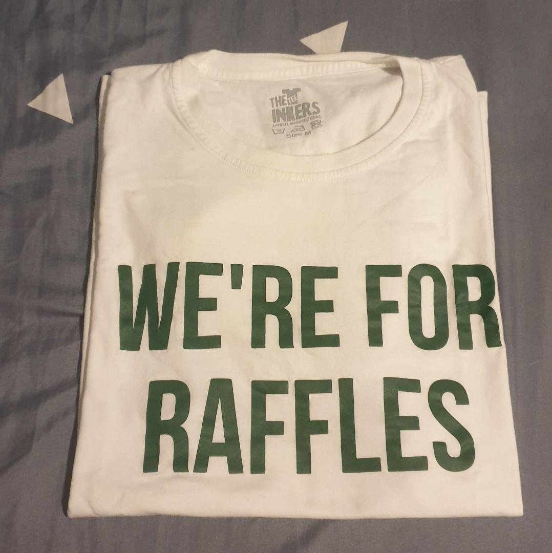 we're for raffles school tee