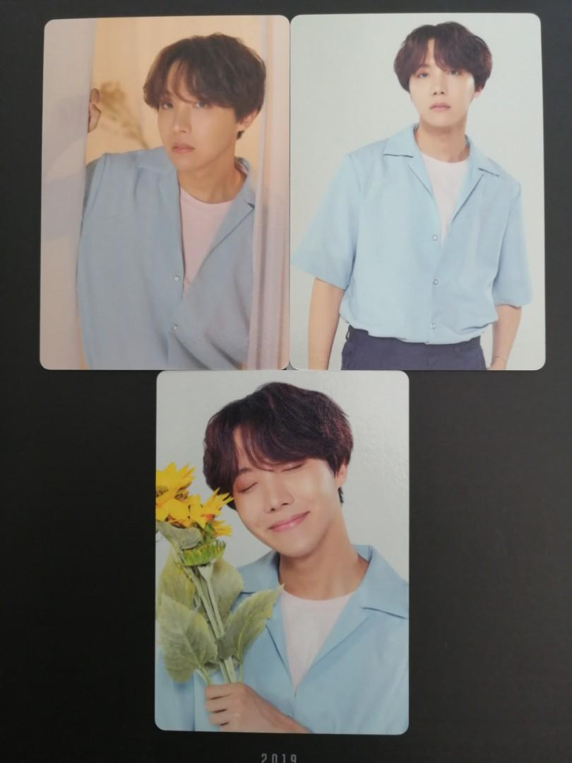[WTS] BTS Official Mini Photocards Sets (Namjoon and Jin)