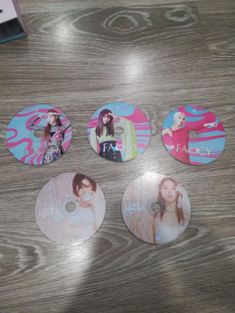 WTT WTS Twice Feel Special, Fancy Album, Lyrics Book, CD, Poster, Pre order Cards set