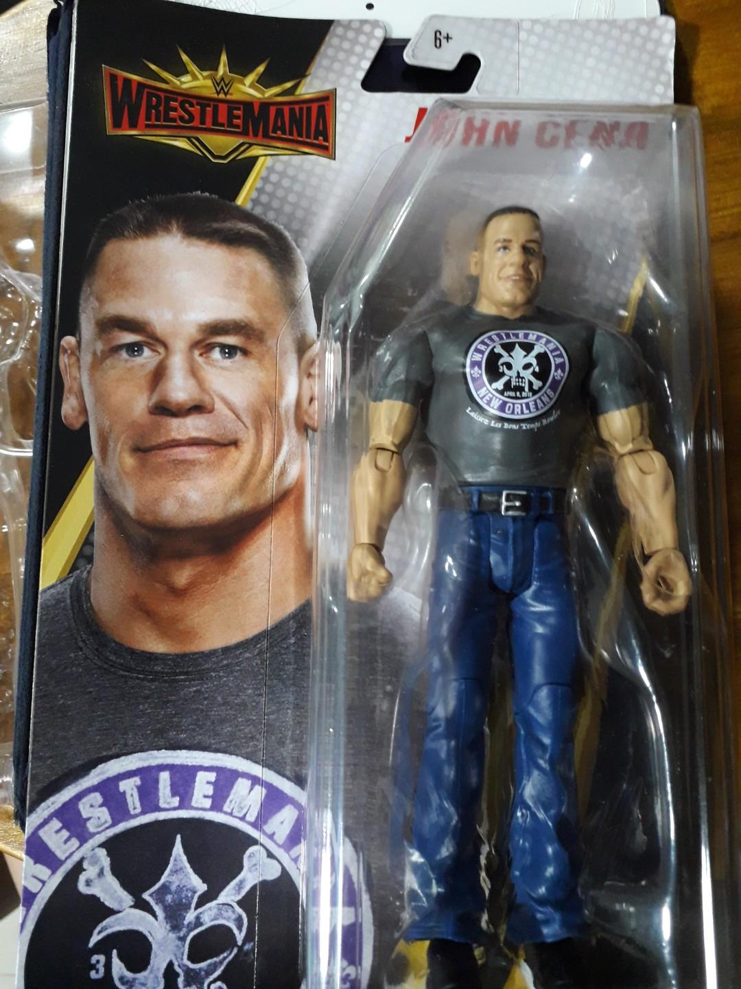 Wwe Mattel Wrestlemania Basic Series John Cena