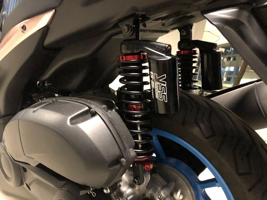 Yamaha Aerox 155 YSS G-Sport Black Series Twin Shock Absorbers