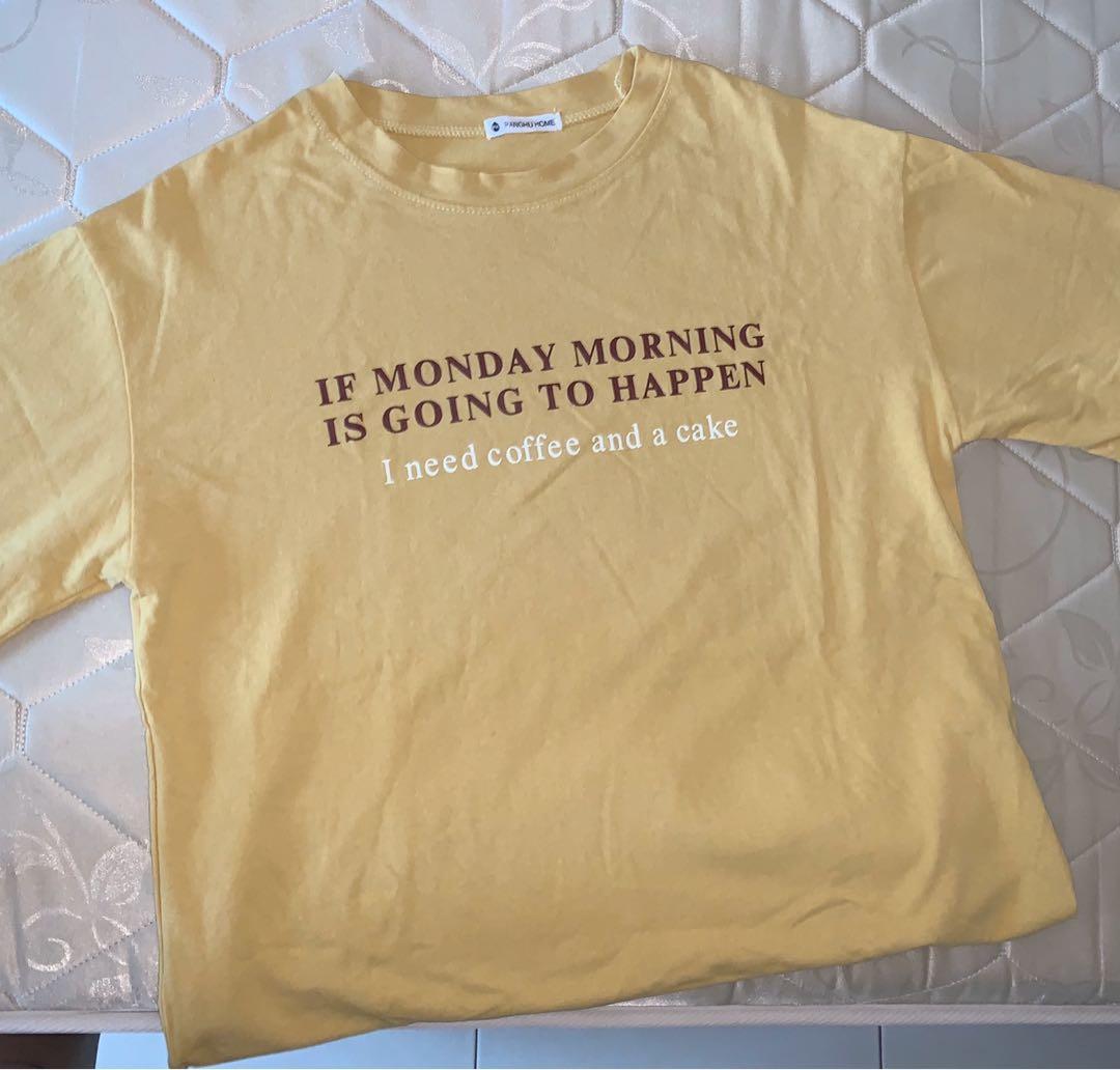 Yellow Statement T-shirt