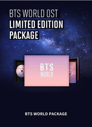(READY STOCK) BTS WORLD OST ALBUM LIMITED EDITION LOOSE