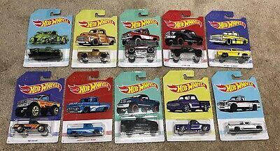 Hot Wheels Pickup Set of 10
