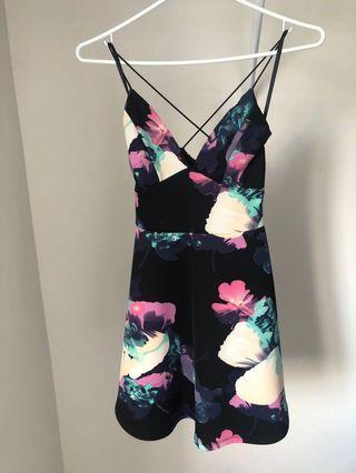 Xs Floral print dress