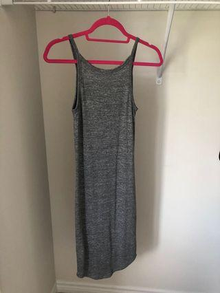 Small Ribbed woven dress
