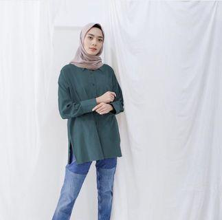 Kina blouse vanilla hijab