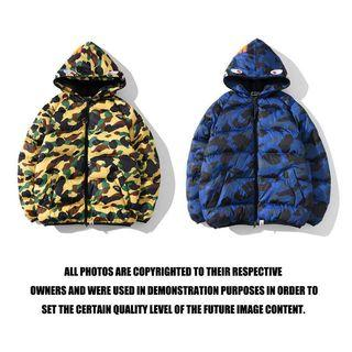 [TOP]  Winter jacket Bape camo fit size M/L/XL/XXL