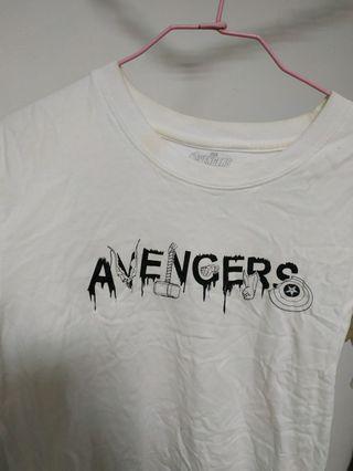 marvel avengers Tshirt 輕鬆 舒服 復仇者聯盟 漫威 英雄