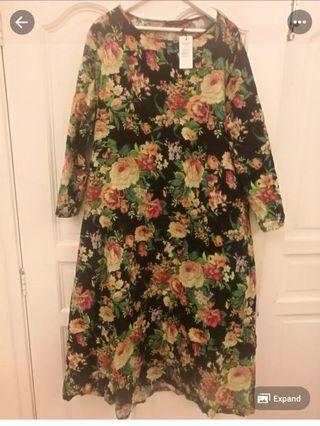 Maxi dress / jubah #Betul2free