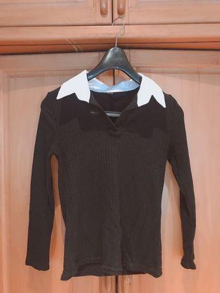 針織毛衣襯衫 #五折清衣櫃