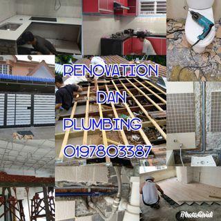 Tukang rumah renovation dan plumbing 0197803387