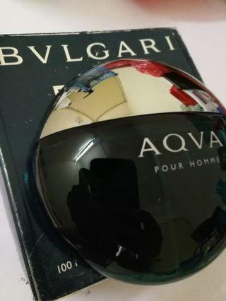 Bvlgari Aqva Pour Homme Perfume Empty Bottle with Box