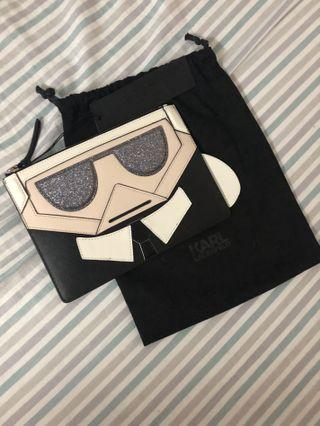 AUTHENTIC / ORIGINAL Karl Lagerfeld K/Kocktail Pouch