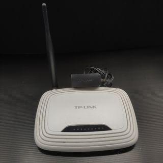 TP-LINK WIFI 無線網路分享器 150Mbps 無線網路發射器 AP