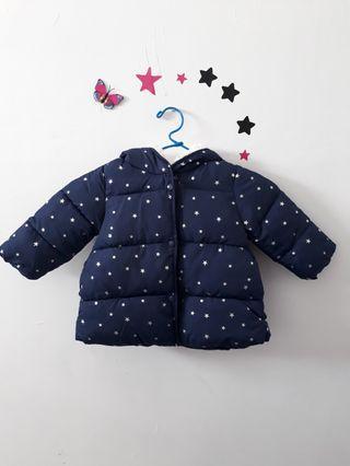 Jaket winter motif bintang bisa boy/girl