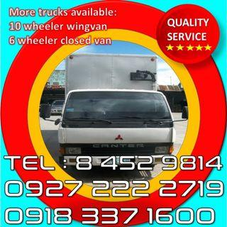Affordable budget Murang Lipat bahay truck for rent Best services Trucking services elf canter
