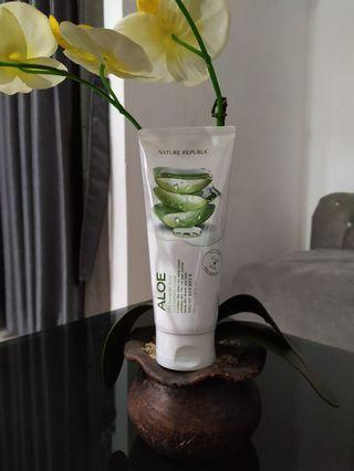 Nature Republic Fresh Herb Aloevera Cleansing Foam 170ml