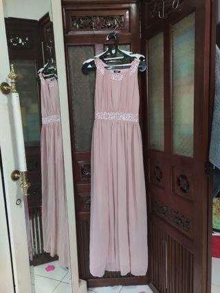 Rampage pink dress