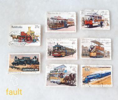 Australia Used Stamps CA001