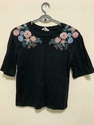 H&M Embroidery Tops