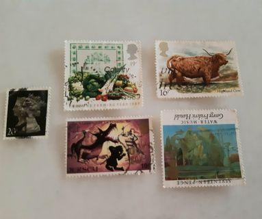 United Kingdom UK England Used Stamp CE001