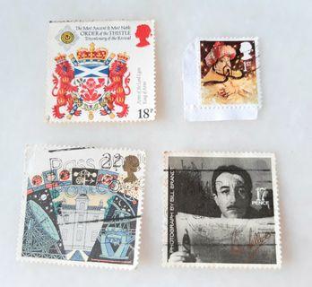 United Kingdom UK England Used Stamps CE003