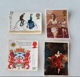 United Kingdom UK England Used Stamps CE004