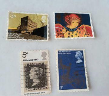 United Kingdom UK England Used Stamps CE005
