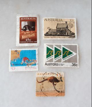 Australia Used Stamps CA003