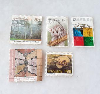 Australia Used Stamps CA004