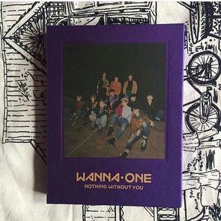 [READY STOCK] WANNA ONE - Nothing Without You