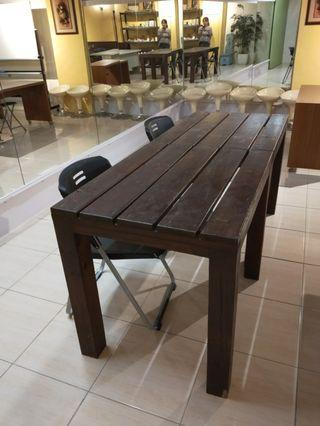 原木桌椅組