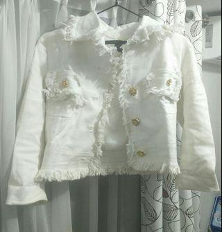 marc Jacobs white jacket