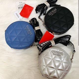 Tas Original guess mini round bag