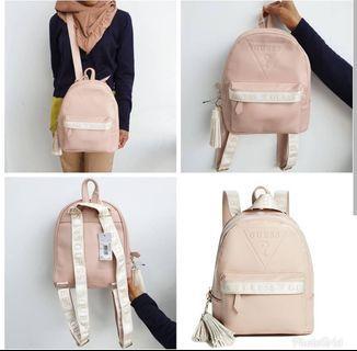 Tas Original guess gesabel backpack beige