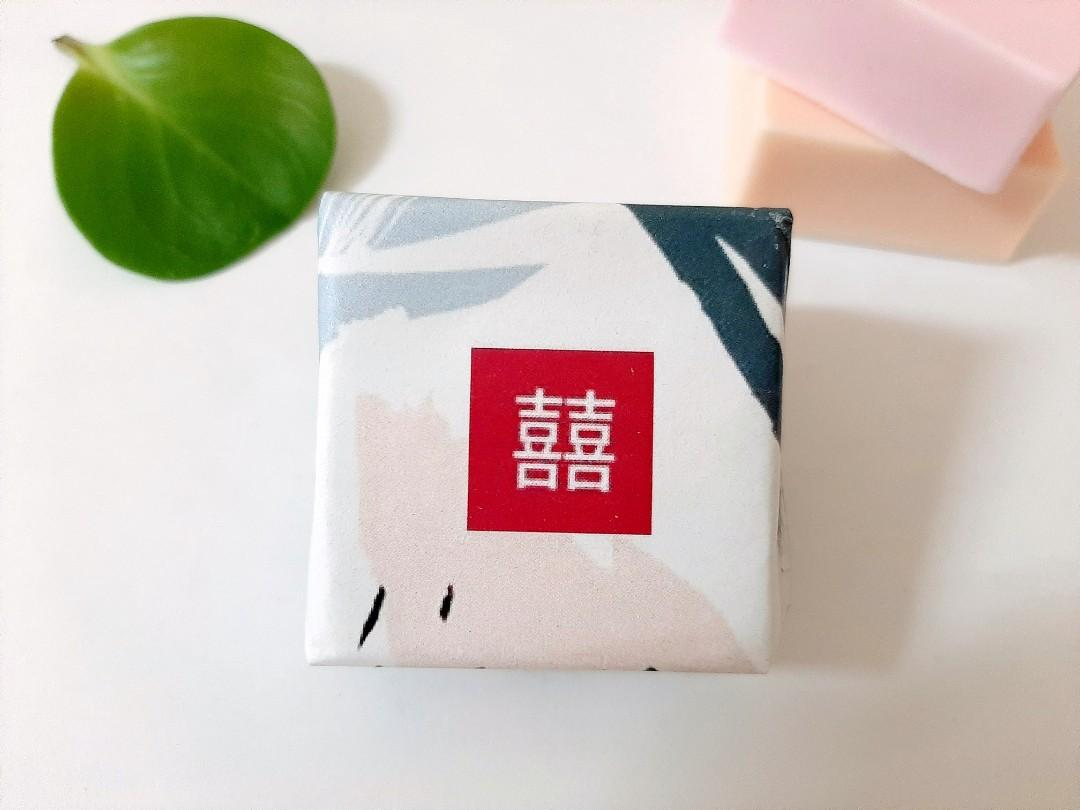 ♡1+1小物♡日系囍字包裝手工皂(婚禮小物、二次進場、姐妹禮、探房禮、桌上禮、小物、香皂、囍皂、送客禮、客製包裝、實用、日用品)