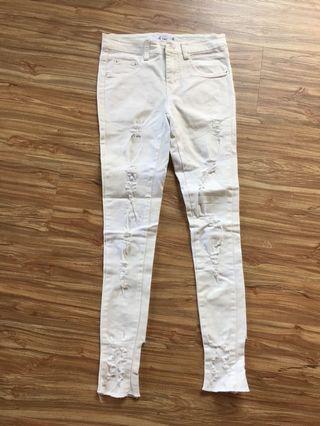二手女版緊身休閒褲,24腰#五折清衣櫃